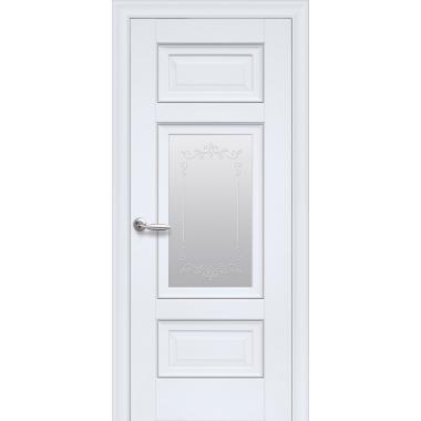 """Дверное полотно Новый Стиль ПП """"Шарм"""" с молдингом и рисунком Р2"""