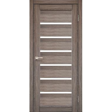 Дверное полотно  KORFADD PR-01 (стекло сатин белый)