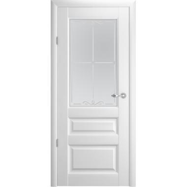 """Дверное полотно Альберо Эрмитаж-2 Со стеклом """"Галерея"""""""