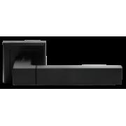 Ручка дверная  Morelli  MH- 28 BL ( черный )