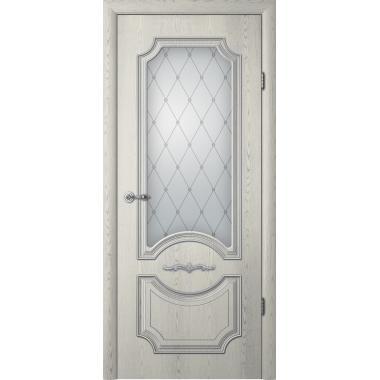 Дверное полотно Альберо Леонардо со стеклом