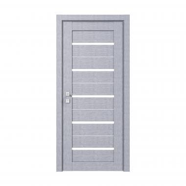 Дверное полотно Rodos Lazio  со стеклом сатин