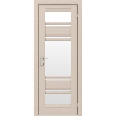 Дверное полотно Rodos Donna со стеклом сатин