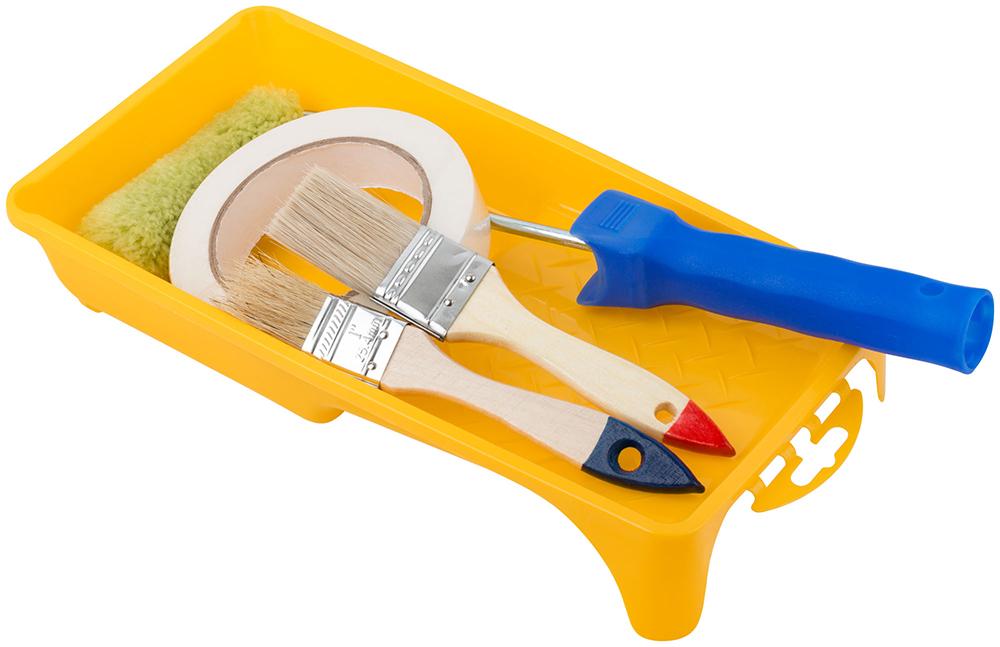 Инструменты для покраски межкомнатных дверей
